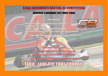Stage de découverte Karting de compétion